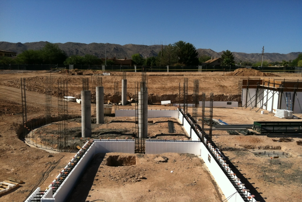New church construction report phoenix for Icf builders in arizona