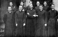 Marcel Lefebvre as a seminarian at the French Seminary in Rome