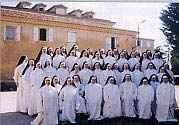 The Dominicans at their Mother House in Fanjeaux, France