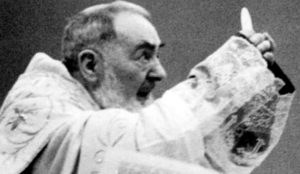 Padre Pio Elevation of Host